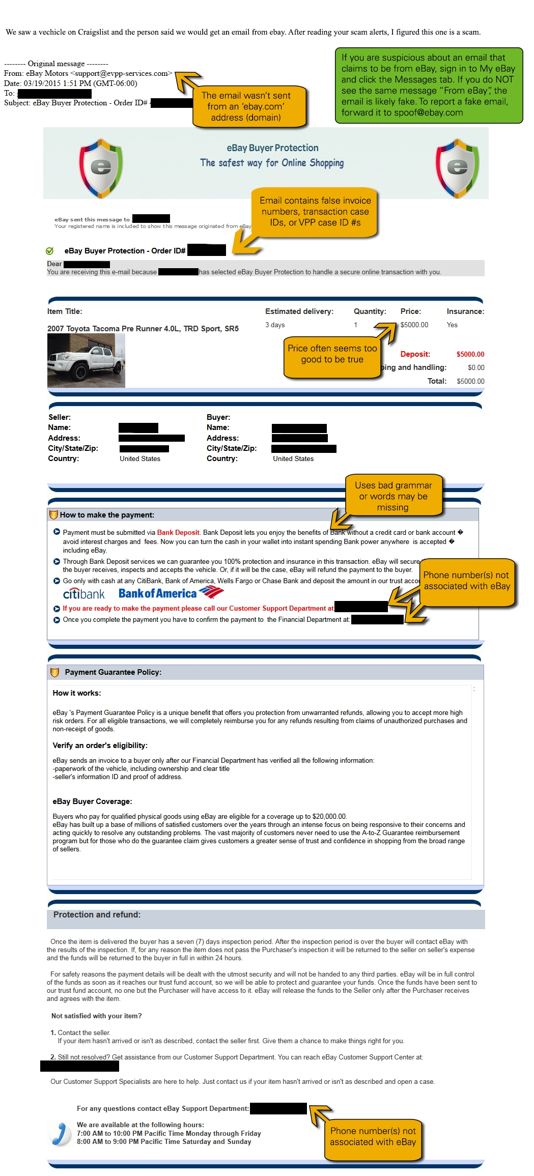 Paypal Invoice Buyer Protection Invoice Template Ideas
