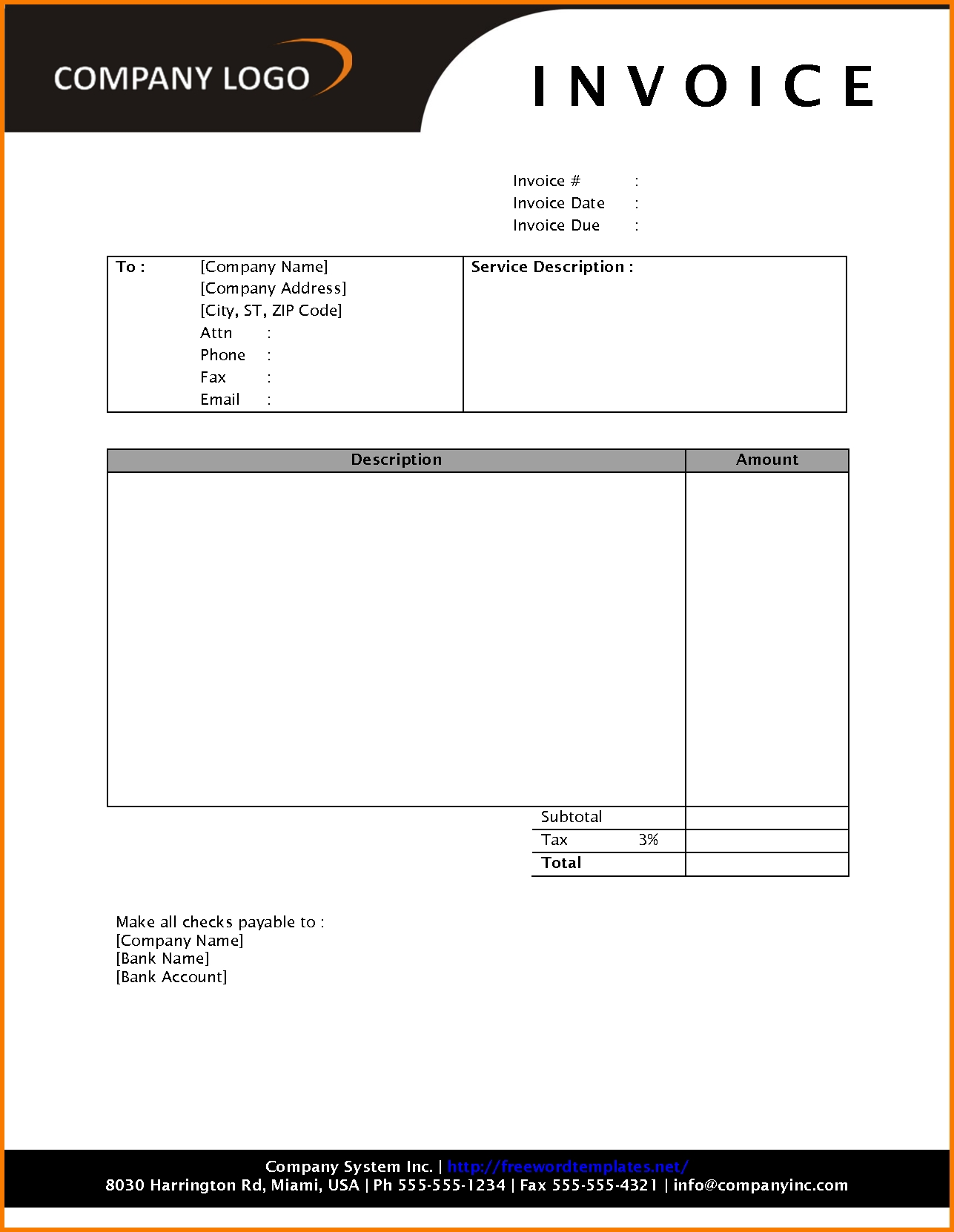 free invoice template download 4 download invoice template receipt templates 1287 X 1662