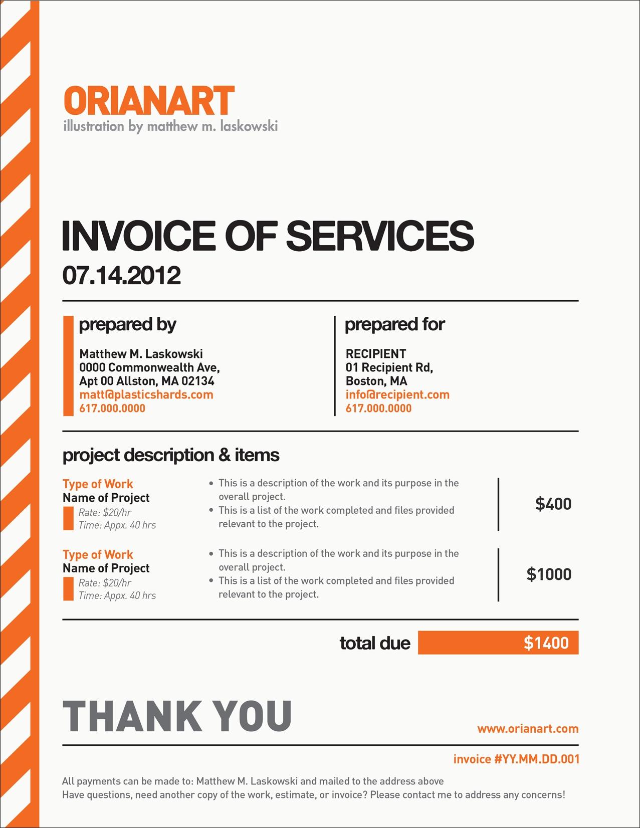 freelance design invoice template best business template freelance invoice sample