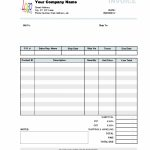 Business Invoice Example