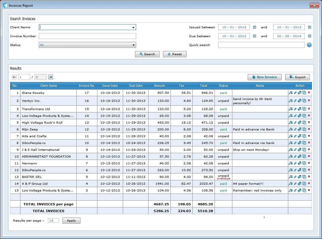 mac invoice software that you39ll love sleek bill for mac best invoice program