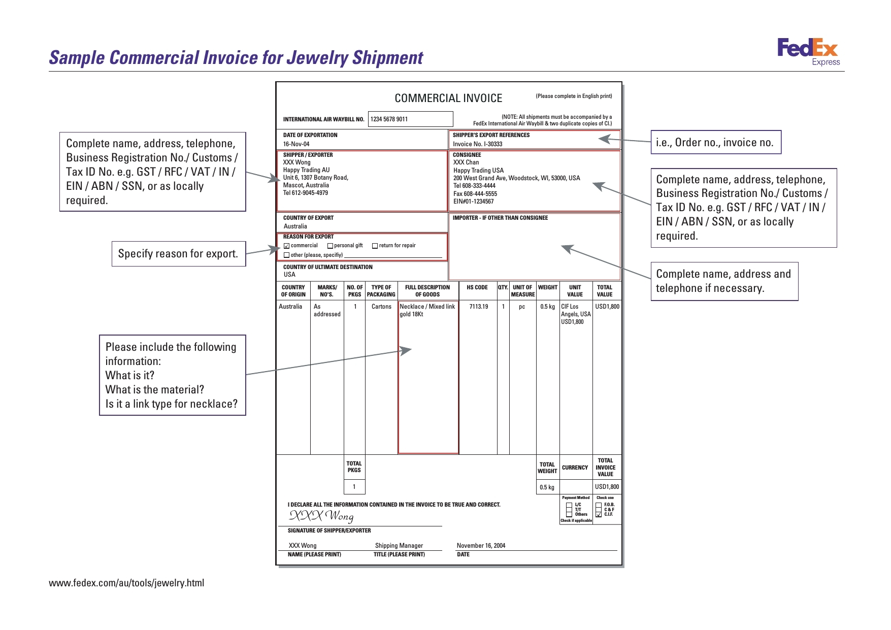 no commercial value invoice invoice template free 2016 commercial invoice value