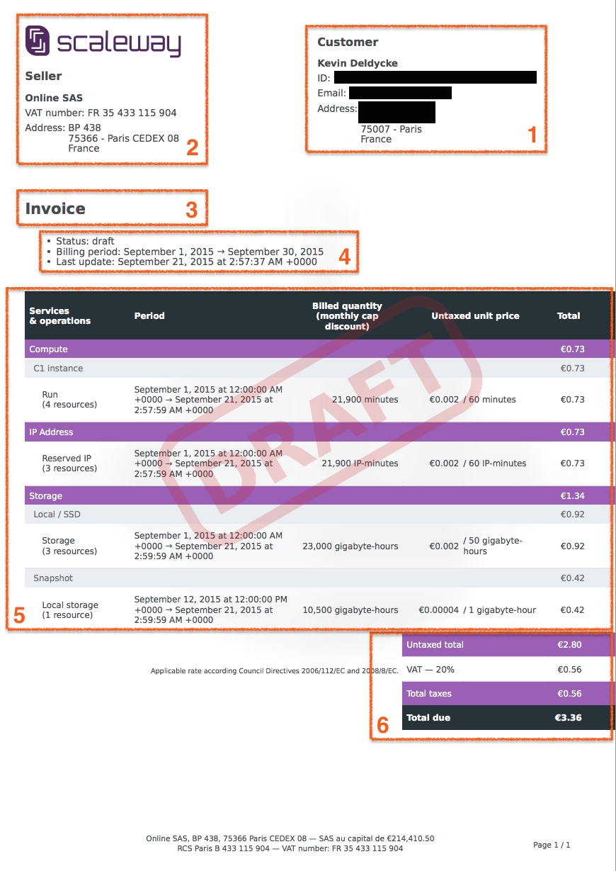 pricing amp billing scaleway pay my invoice