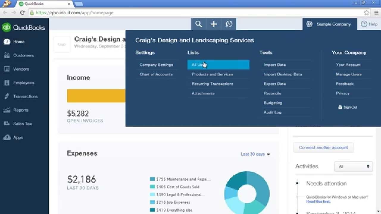 quickbooks custom invoice quickbooks online tutorial customize invoice payment terms and 1280 X 720