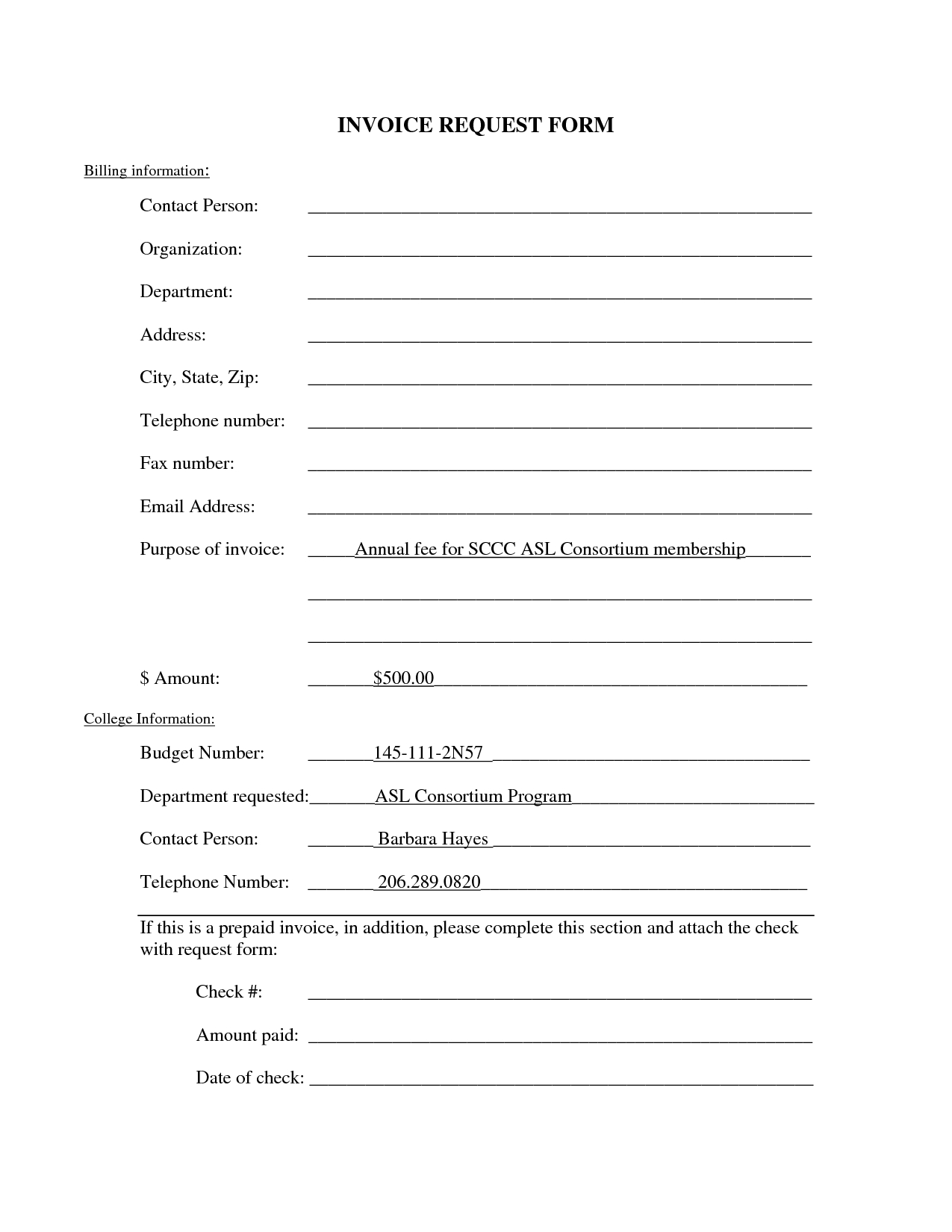 standard invoice form invoice request form template dd form 1149 copy of invoice template