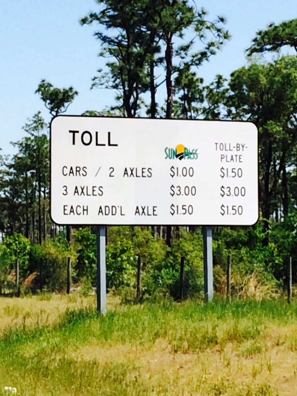 toll plate invoice invoicegenerator toll by plate invoice florida