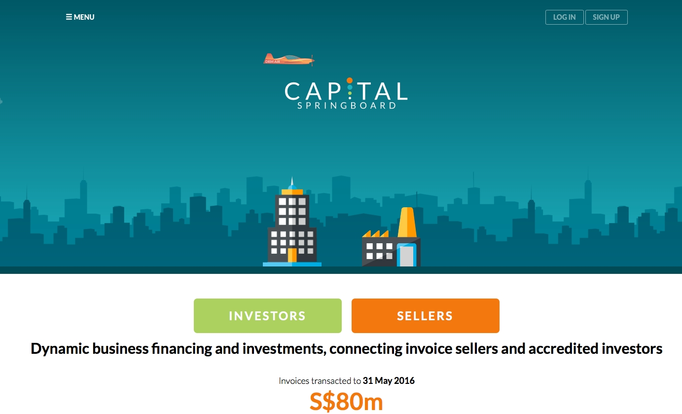 capital springboard launches invoice financing platform investors absolute invoice finance