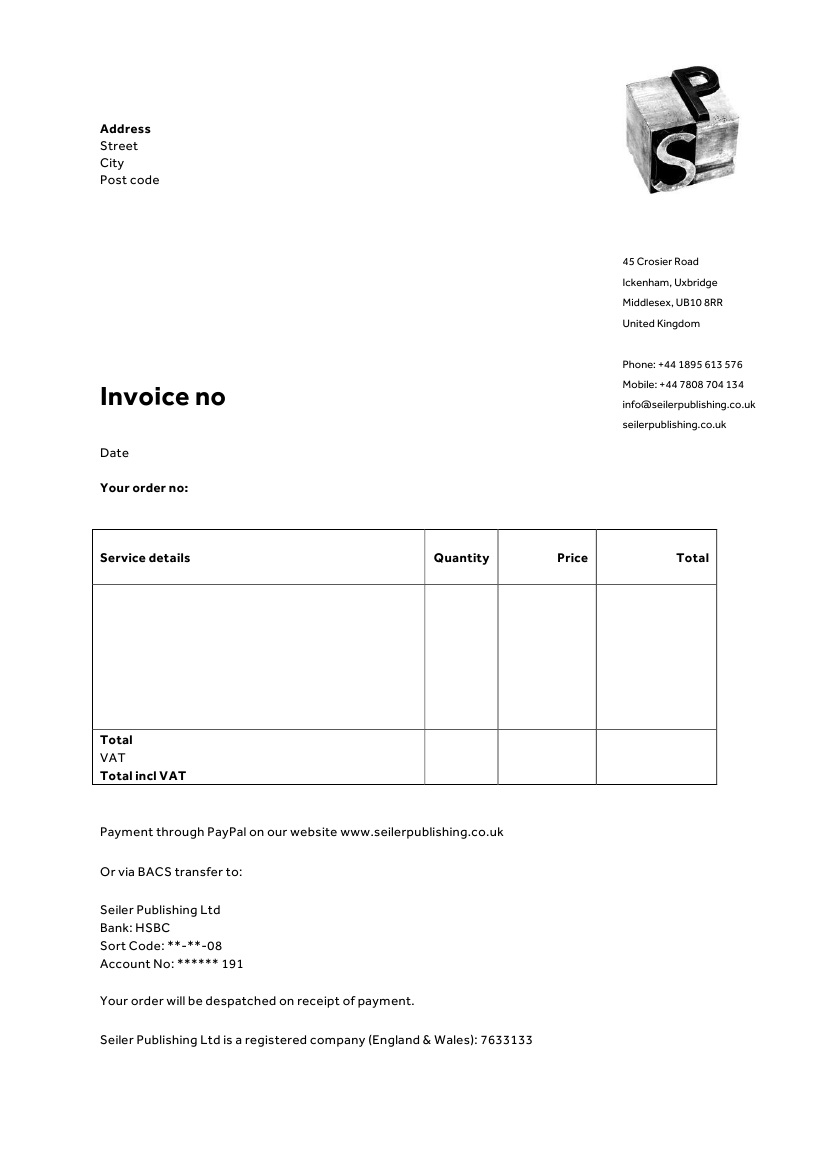 invoice letterhead templates for therapists websites for limited company invoice template