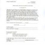 Medical Records Invoice