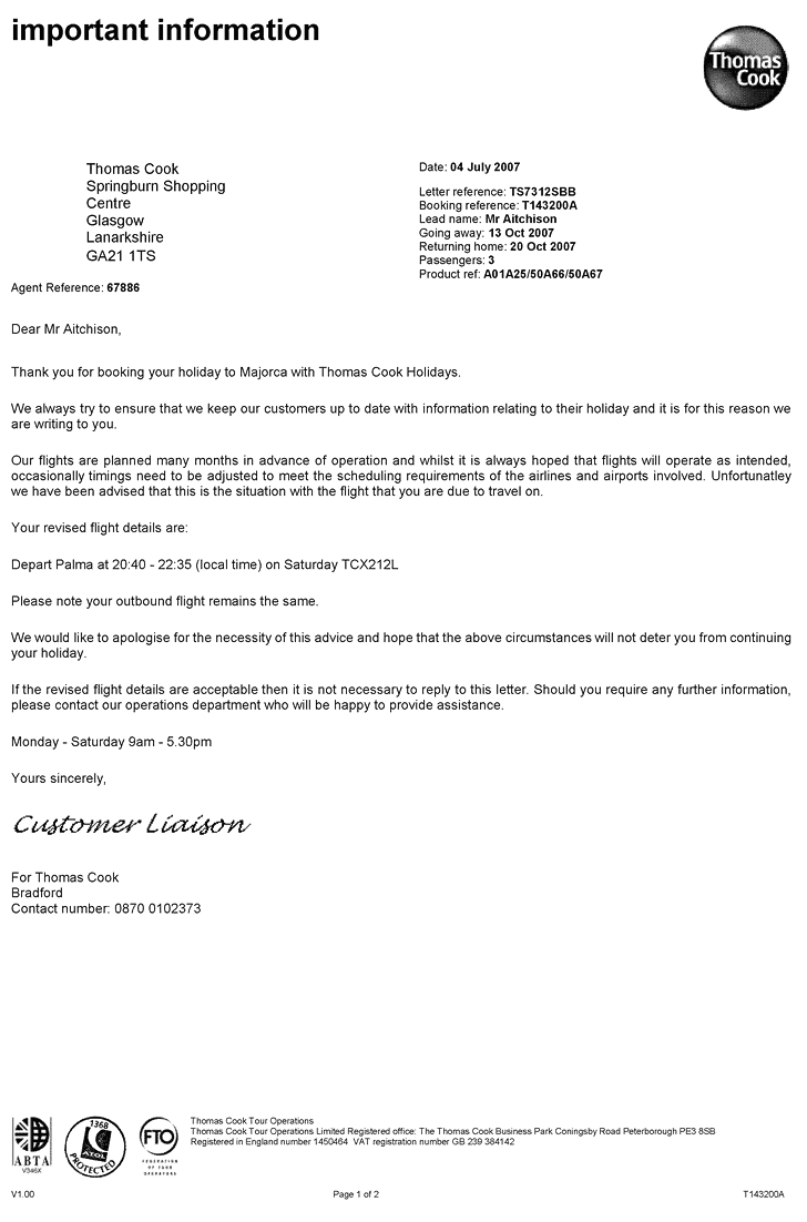 sample gallery detail thomas cook errata letter pitney bowes invoice letter example