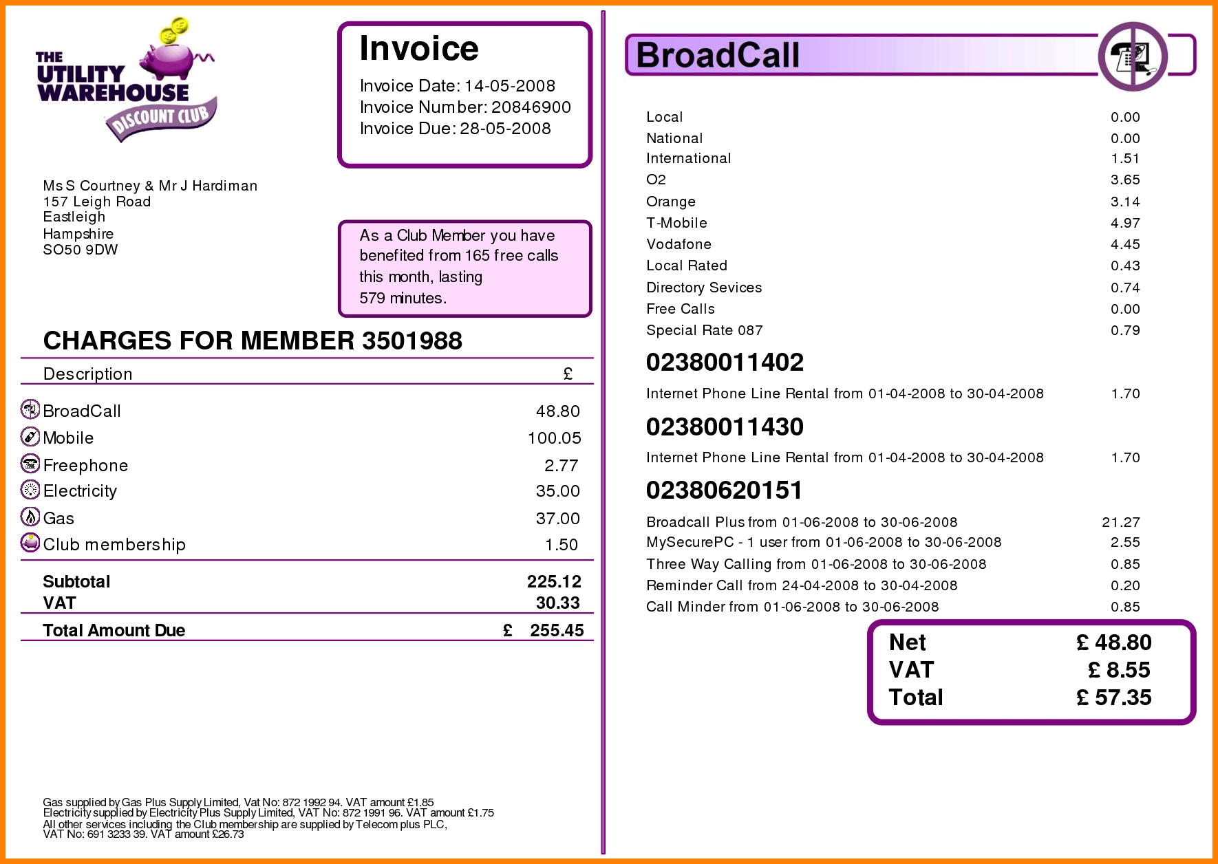 invoice number format seatle davidjoel co