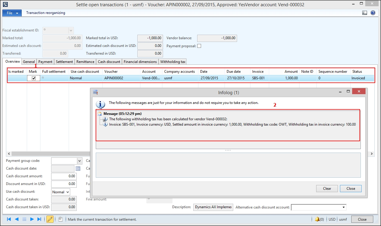ax functional withholding sales tax ax 2012 net amount on an invoice