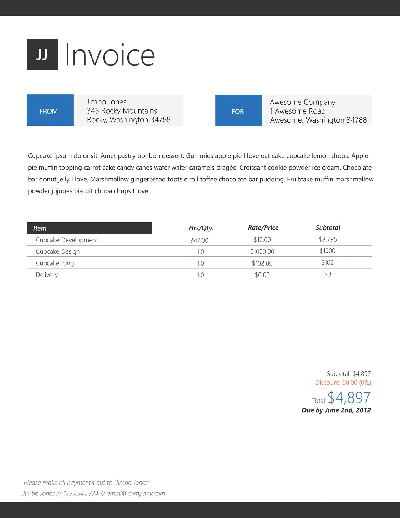 cool invoice designs invoice design best practice and code for on pinterest 1280 X 1656
