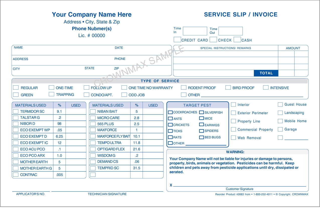 pest control invoices pest control invoice invoic pest control pest control invoices