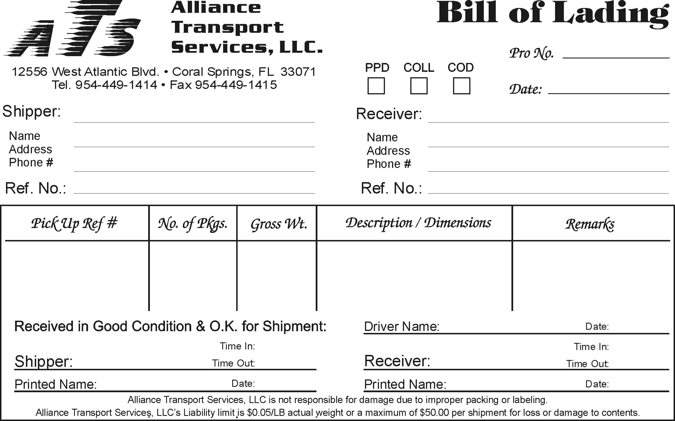 tracing bills of lading to sales invoices provides