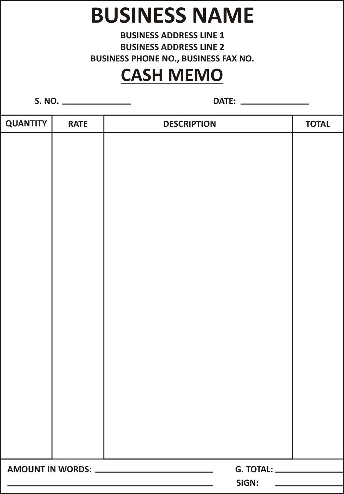 format pdf invoice template free cash invoice format