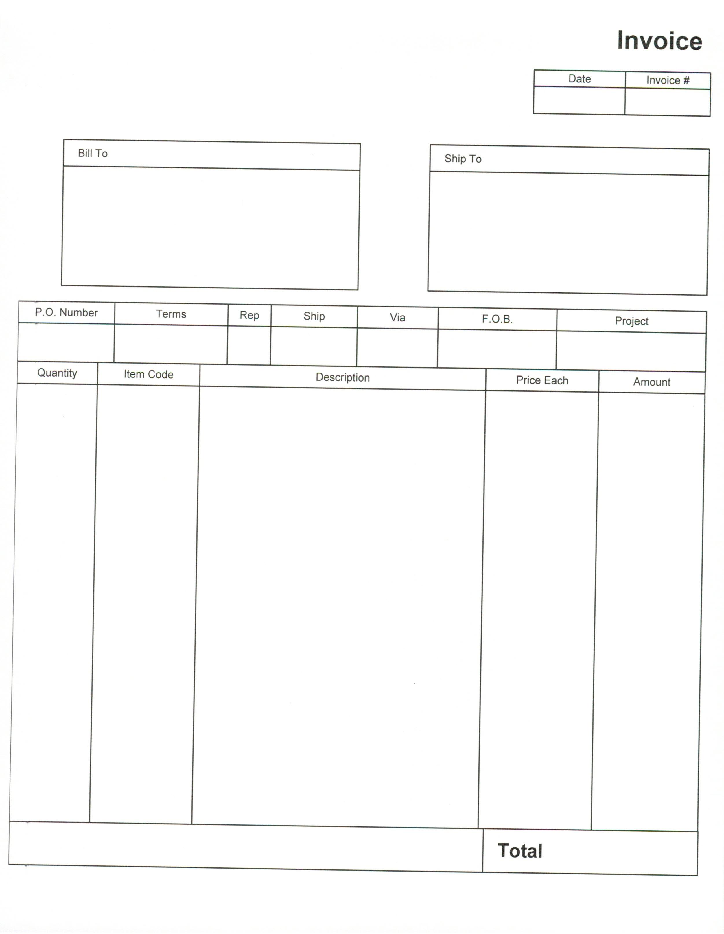 free invoice forms pdf akba greenw co