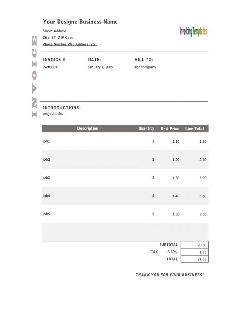Invoice Generator Online Free
