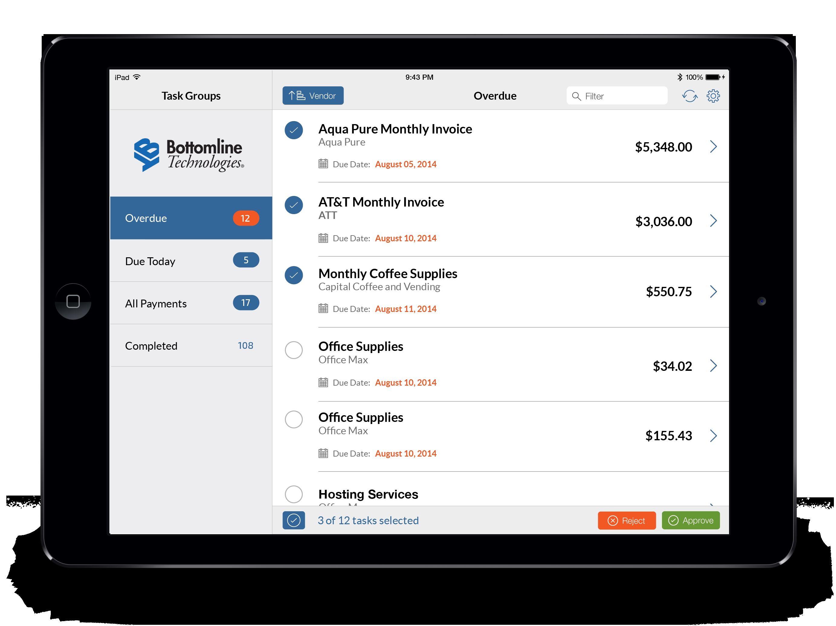 invoice processing ap automation bottomline technologies accounts payable invoice processing