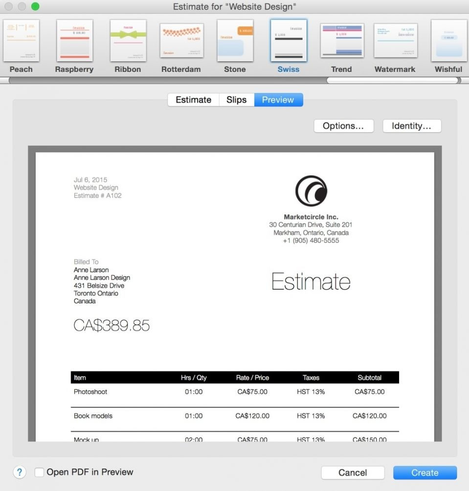 my invoices and estimates deluxe invoicegenerator my invoice and estimates