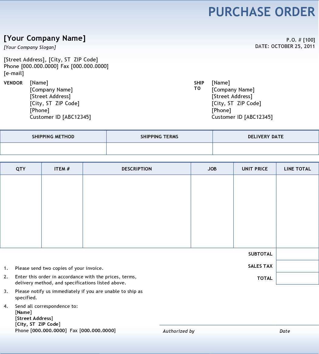 purchase order invoice all you ever needed to know about purchase orders 1051 X 1165