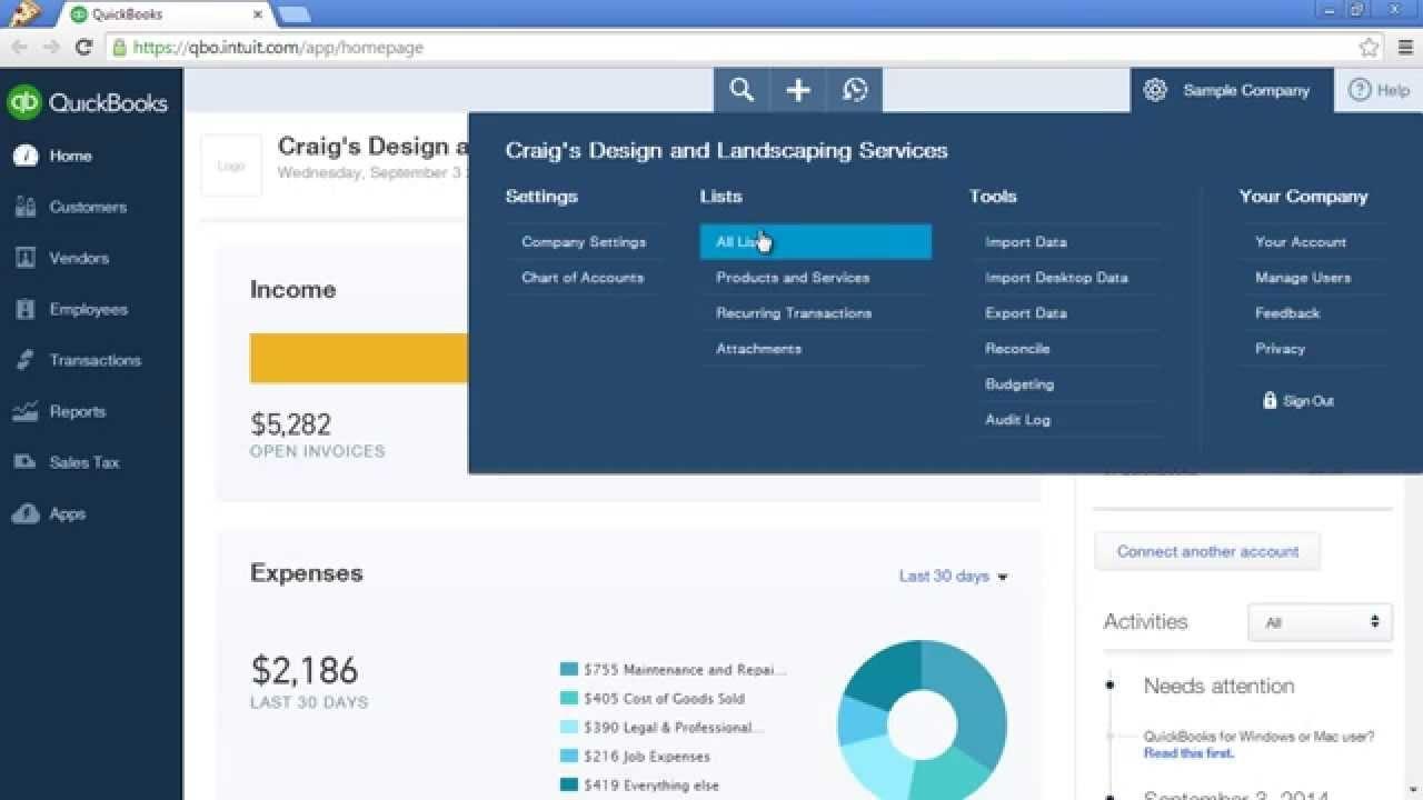 quickbooks online customize invoice quickbooks online tutorial customize invoice payment terms and 1280 X 720
