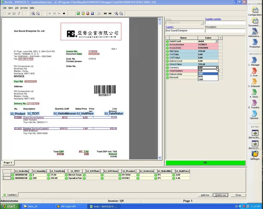 readsoft invoice processing and accounts payable automation accounts payable invoice processing