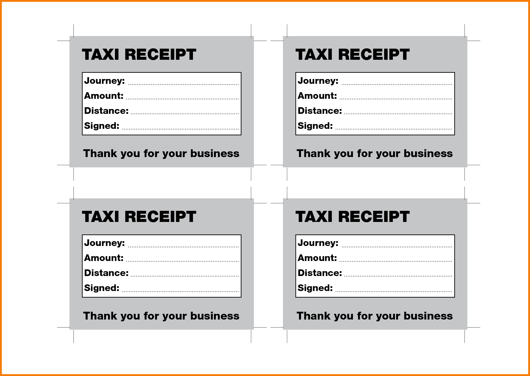 3 taxi receipt receipt templates taxi invoice template