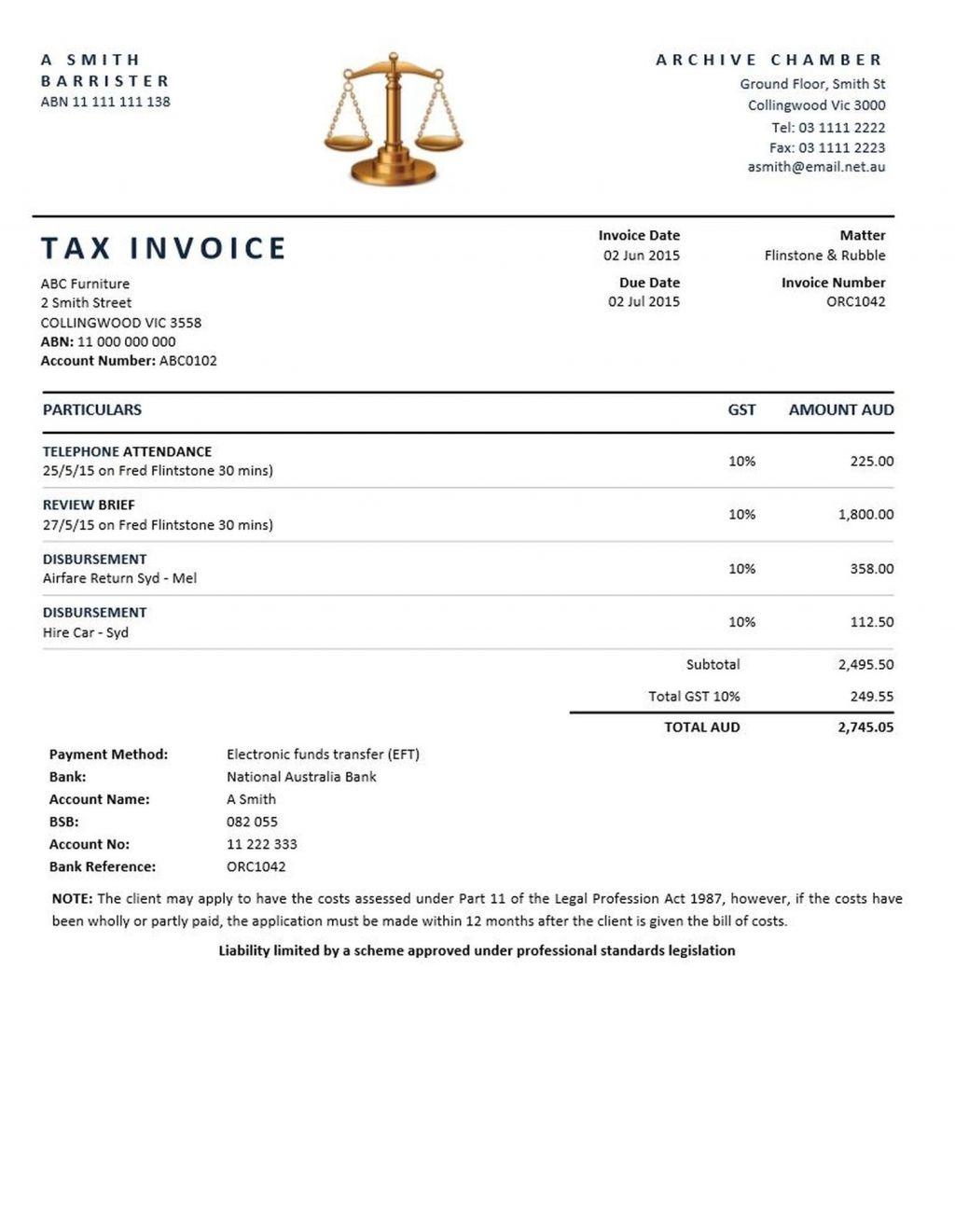 invoice template legal invoice sample attorney invoice template sample legal invoice