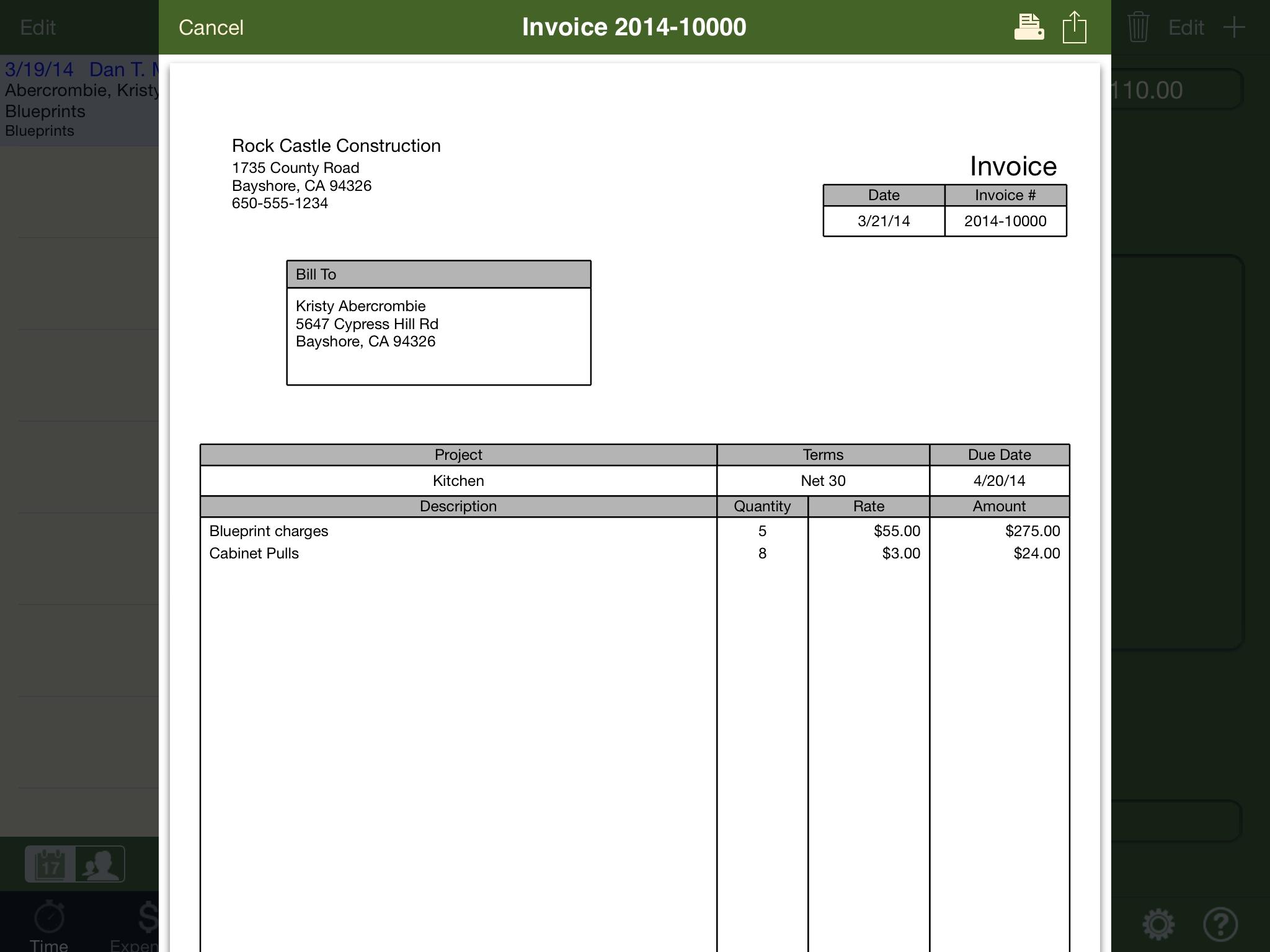 Quickbooks Email Invoices