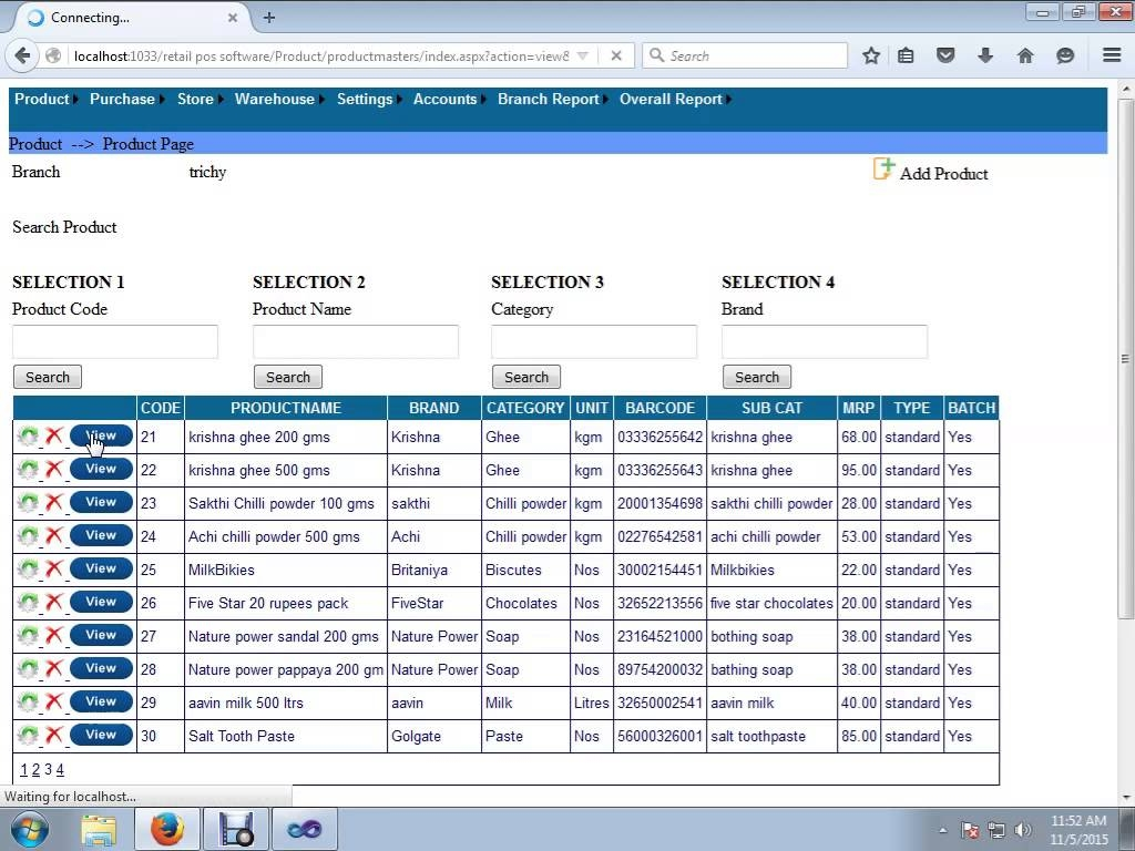 retail invoice software retail billing software online supermarket billing software 1024 X 768