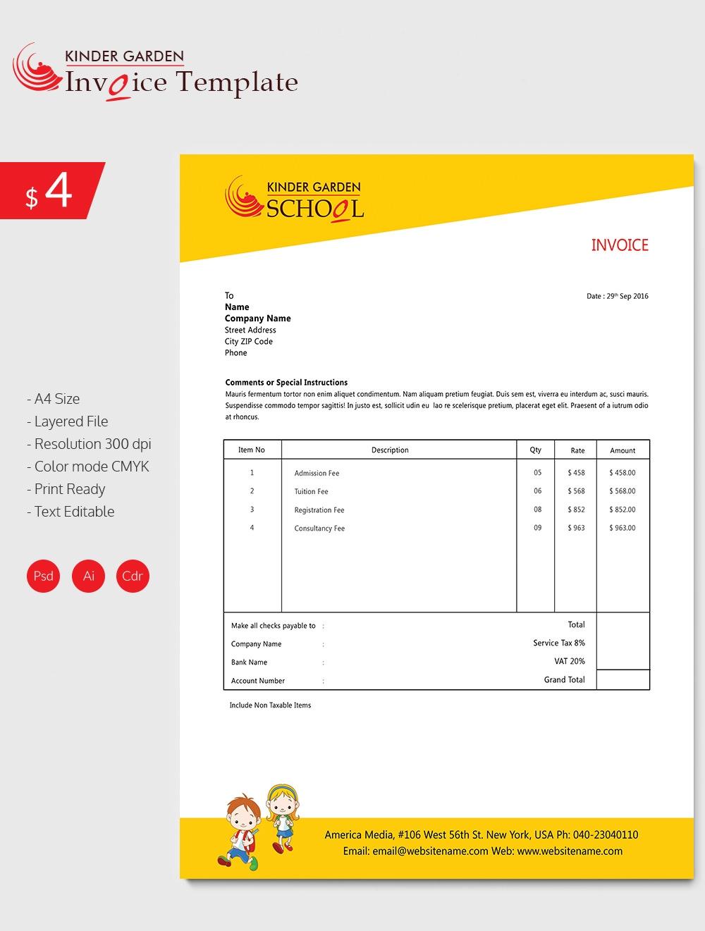 school invoice template invoice template pdf editable invoic small best free invoice