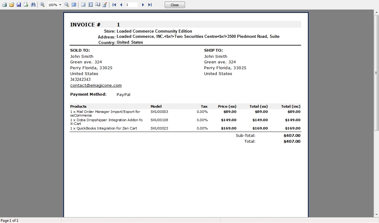 4 order details invoice and packing slip reports store manager invoice packing slip