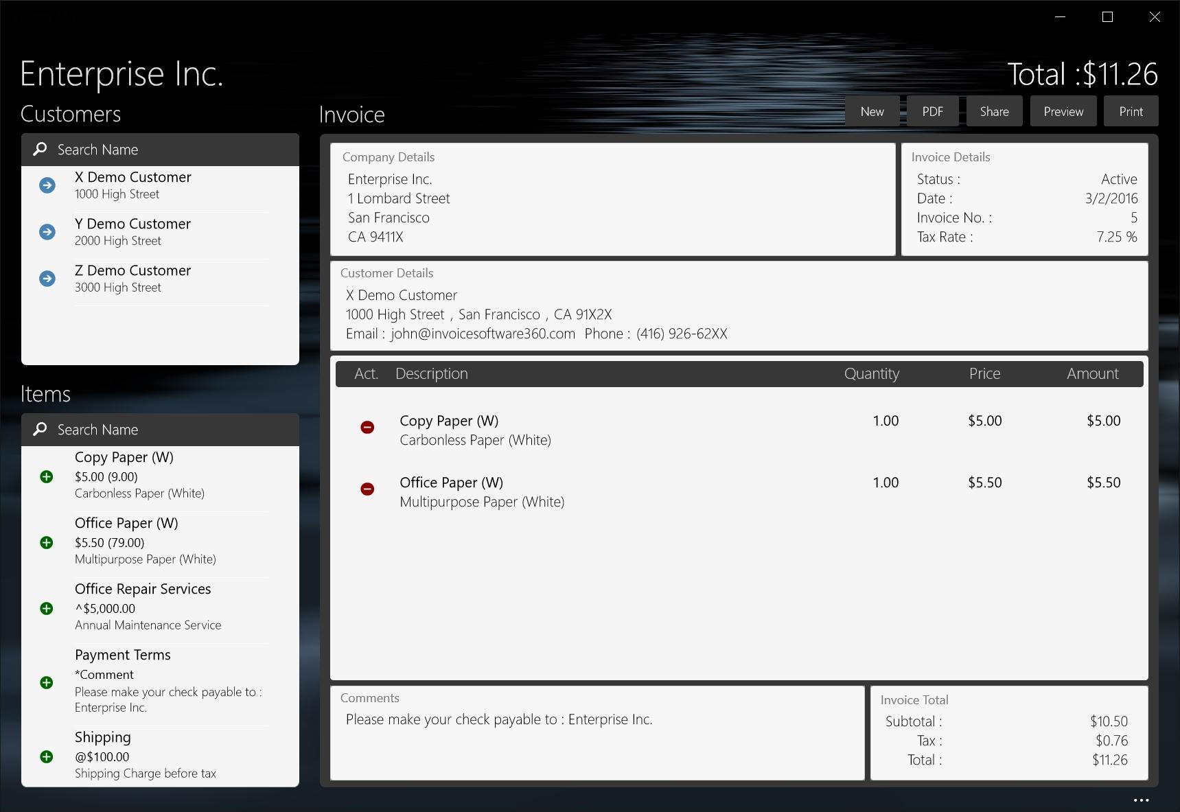 invoice 360 invoice software microsoft invoice software