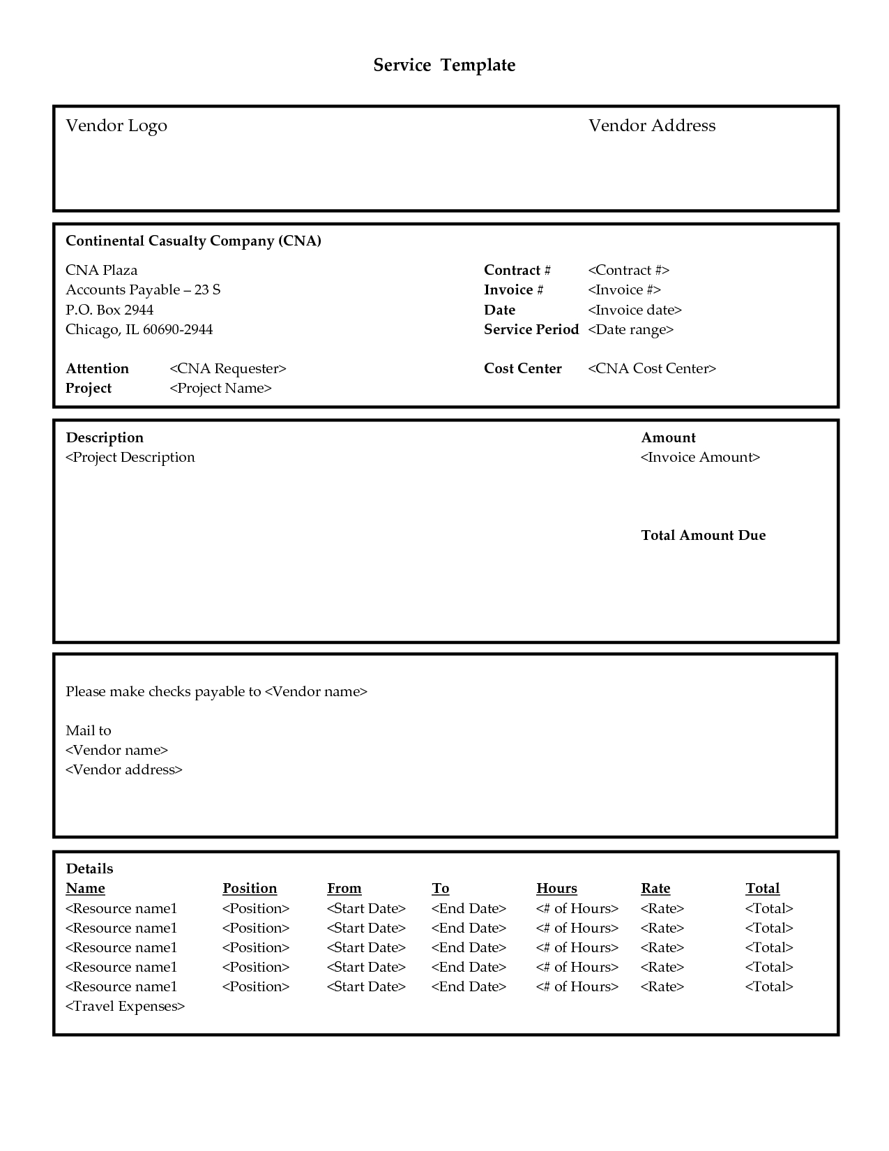 invoice services invoice template services printable invoice invoice template for services provided