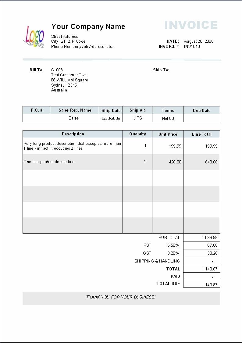 invoice template sample printable invoice template basic invoice template free