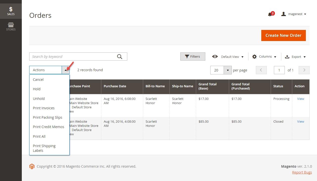 magento 2 customizable invoice magenest magento create invoice