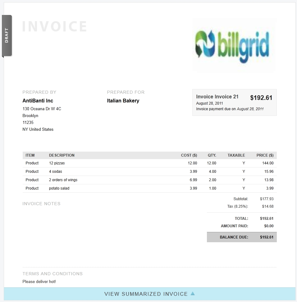 online invoice billing time tacking and expense software part 5 client invoice template