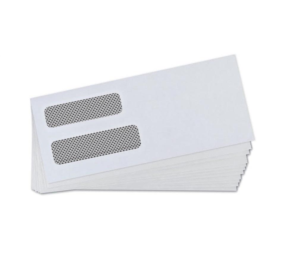 quickbooks invoice double window envelopes gummed 500 count quickbooks invoice envelopes