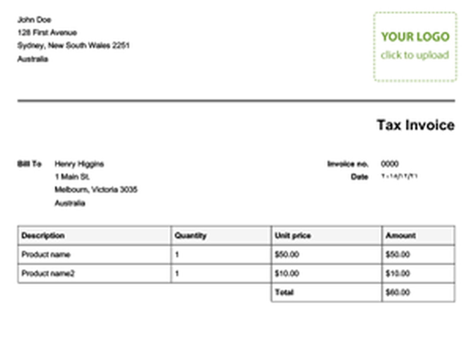 Recipient Created Tax Invoices