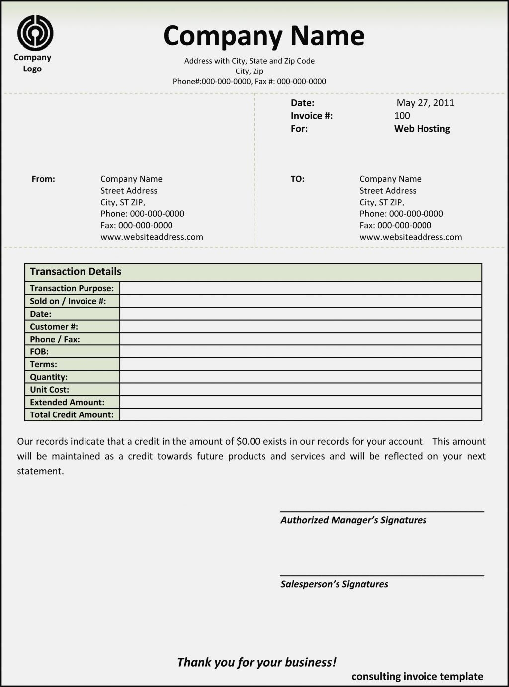 Invoice Template Free Office slicesofboulder – Microsoft Office Receipt Template