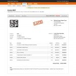 Invoice For Website Design