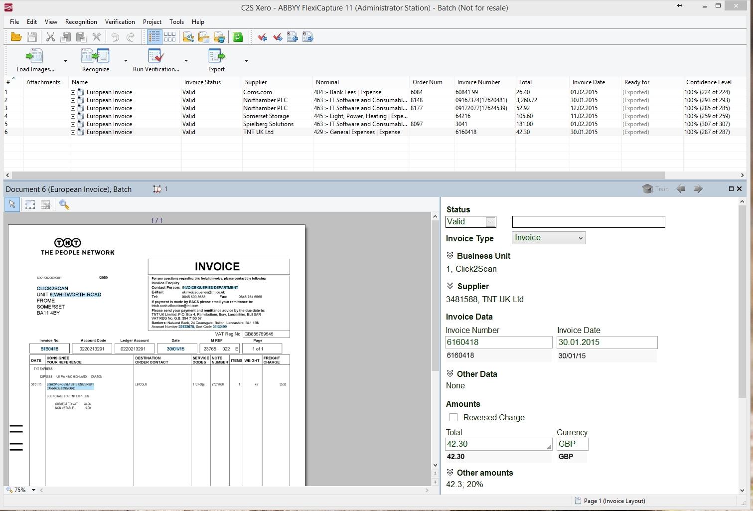 invoice processing microsoft dynamics gp ocr invoice processing