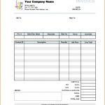 Cash Sale Invoice Template