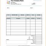 Cash Sale Invoice Template