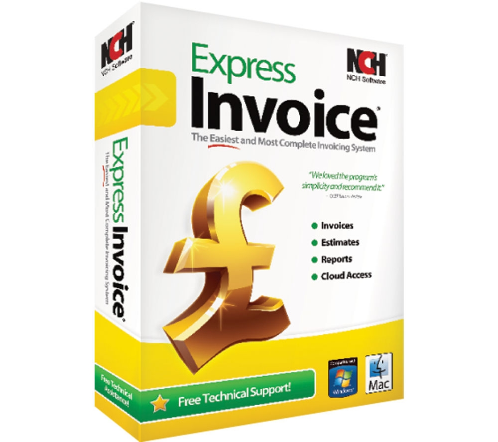 nch software express invoice deals pc world nch invoice software