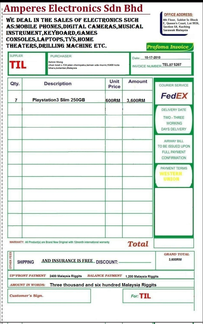 pro forma define proforma invoice
