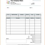 Sample Company Invoice