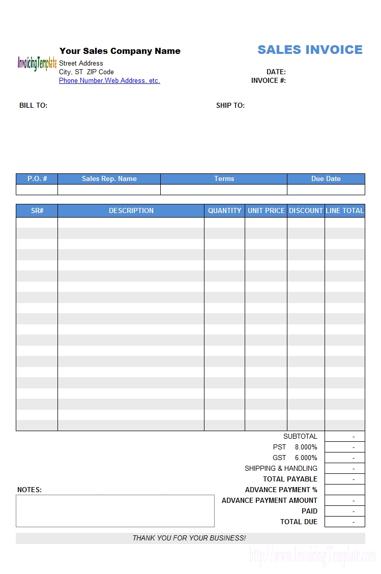 invoice in advance advance payment invoicing format 749 X 1129