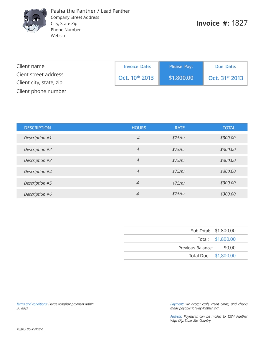 to design invoice templates in adobe photoshop make an invoice template